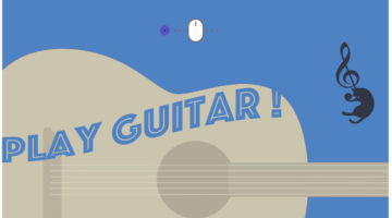 SoundInstrument / Let's play the guitar