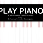 [Codrops]音楽サイト作り方 ピアノ編