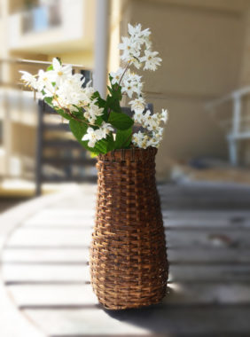 籐の花さし