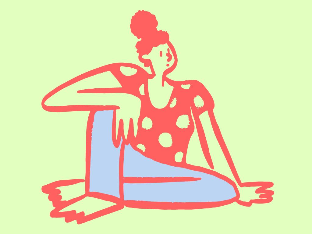 SittingDoodle