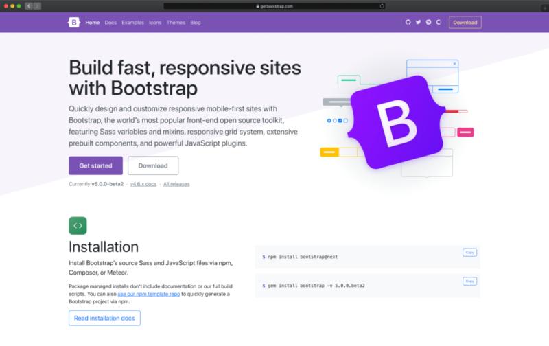 Bootstrapを使ったシステム作成承ります